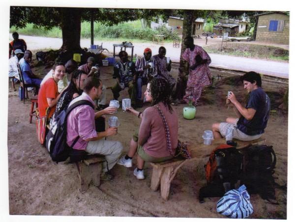 Touristes italiens de Malaki ma Kongo - Nganga Lingolo