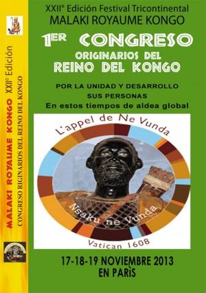 Présentación Congrès Malaki Royaume Kongo Esp1 copy