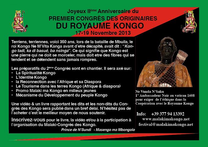 2ème Anniversaire du Congrès des Kongo web
