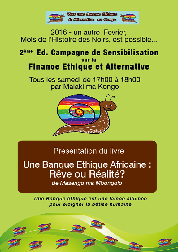 2° Ed. Campagne Finance Ethique 2016
