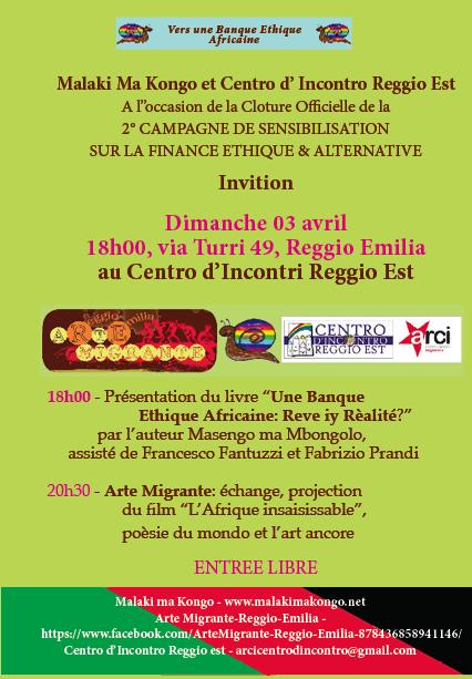 Presentation livre Reggio E aprile Fr1
