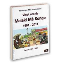 Libro Vent'anni di Malaki ma Kongo