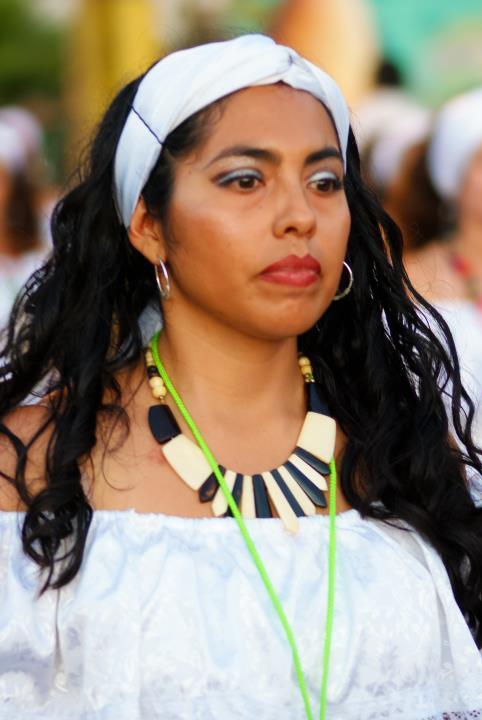 Sra. Carolina Cortés Silva, Présidente Malaki ma Kongo section Chili-Africa.