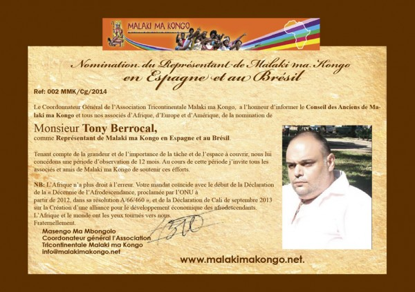 Nomination de Tony Berrocal