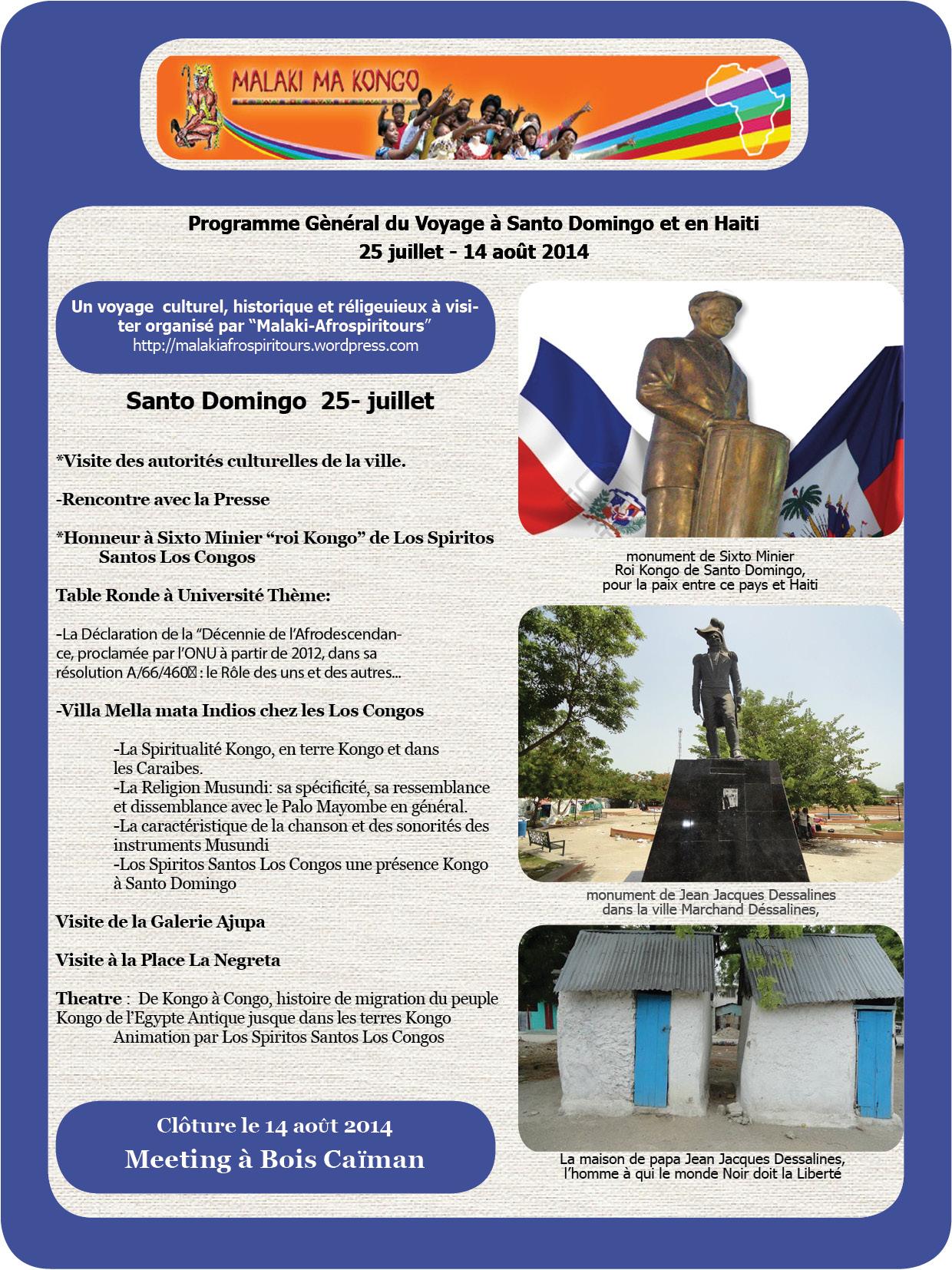 Programme Gle Santo Domingo Haiti 2014 E2