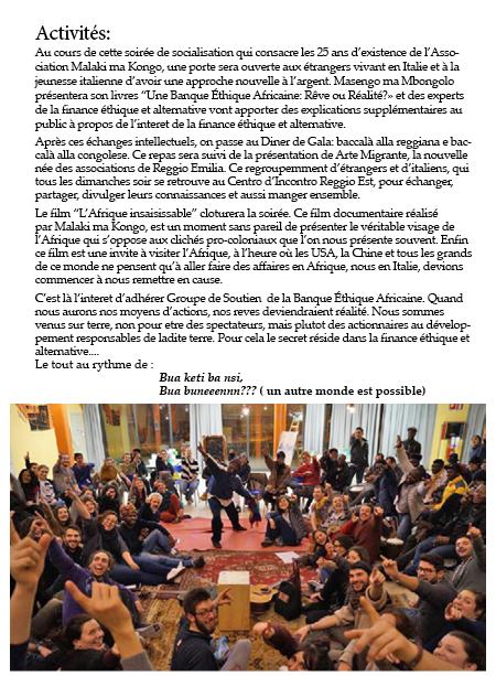 Presentation livre Reggio E aprile Fr2b